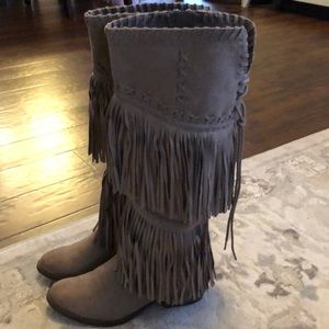 Not Rated Fringe Boots